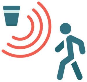 bewegungsmelder icon