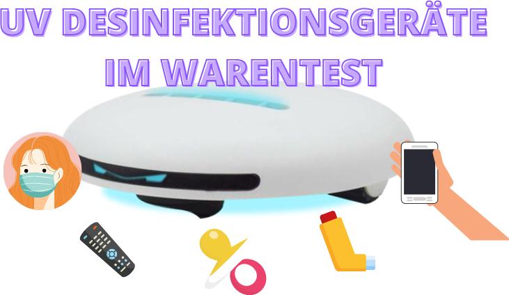 UV DESINFEKTIONSGERÄTE TEST
